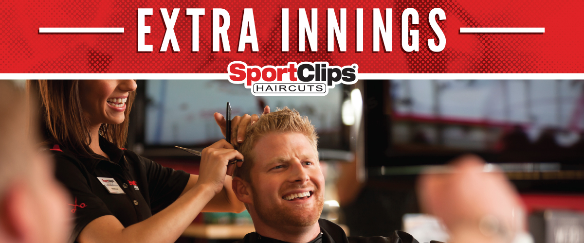 The Sport Clips Haircuts of Costa Mesa  Extra Innings Offerings